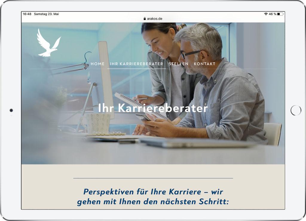 Arakos Website 2020