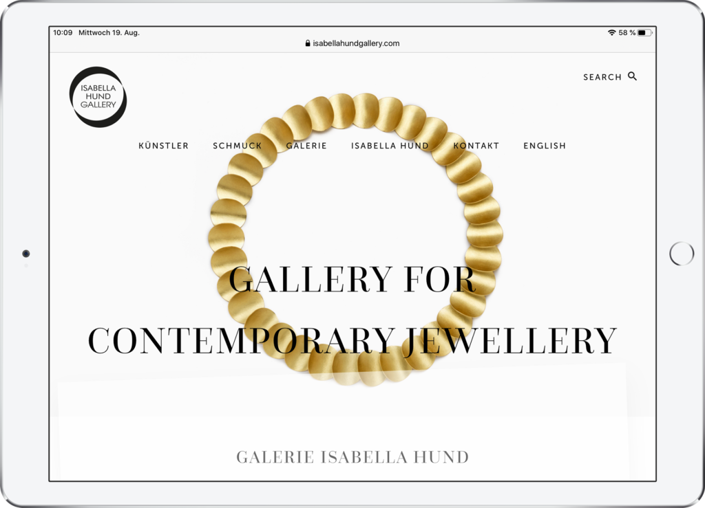 designbyschauer Website Isabella Hund Gallery
