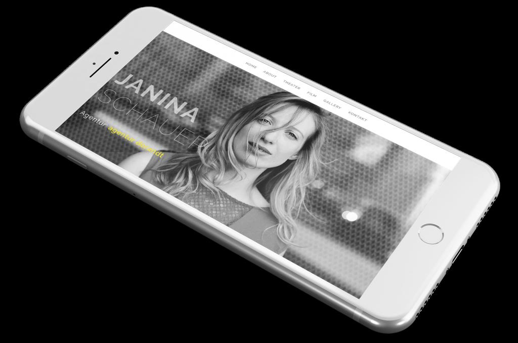 Offizielle Webseite der Schauspielerin Janina Schauer