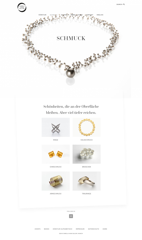 Webseite Isabella Hund Gallery