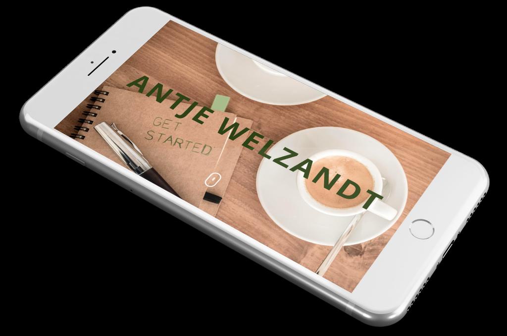 Website Antje Welzandt