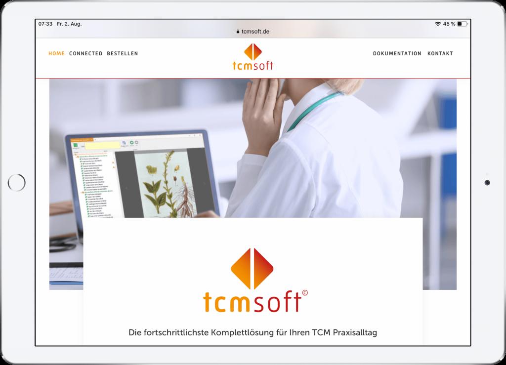 Webseite TCMSOFT