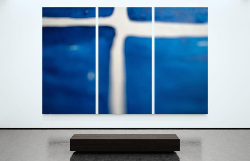 """Triptychon """"Cross"""" (Foto & Artwork © Werner Schauer)"""
