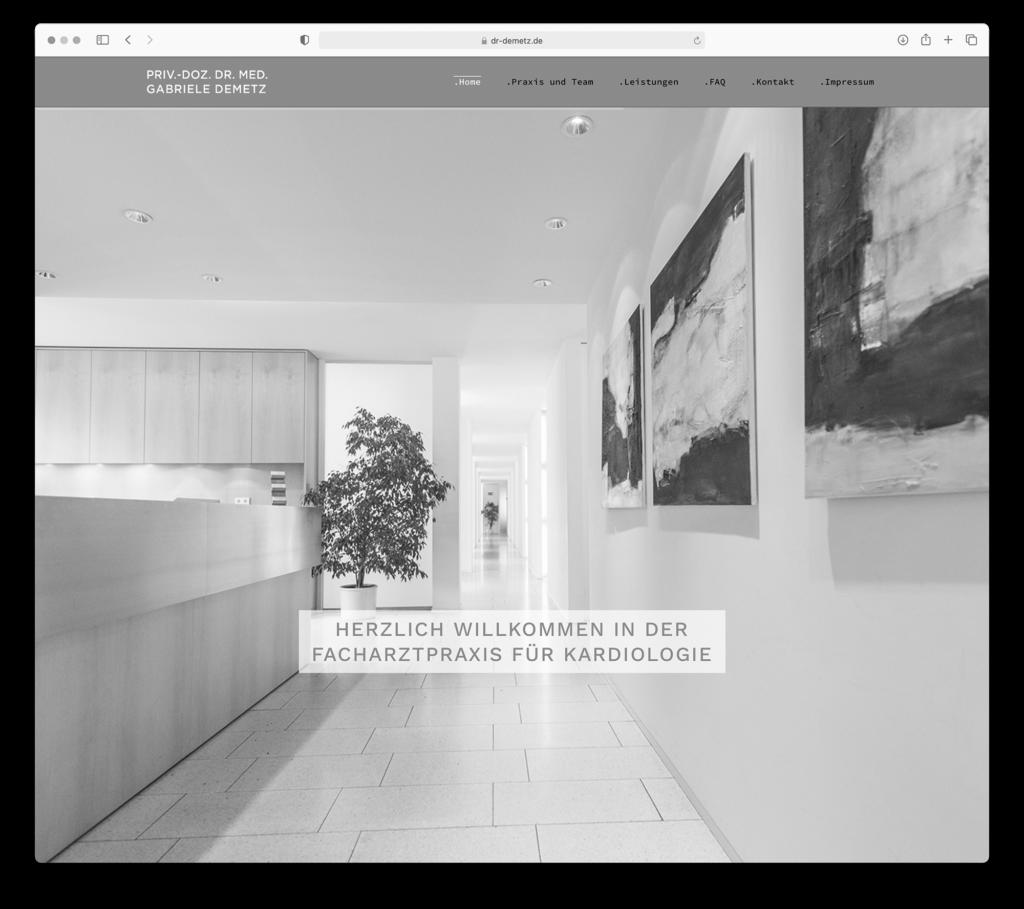 designbyschauer Website gemeinschaftspraxis