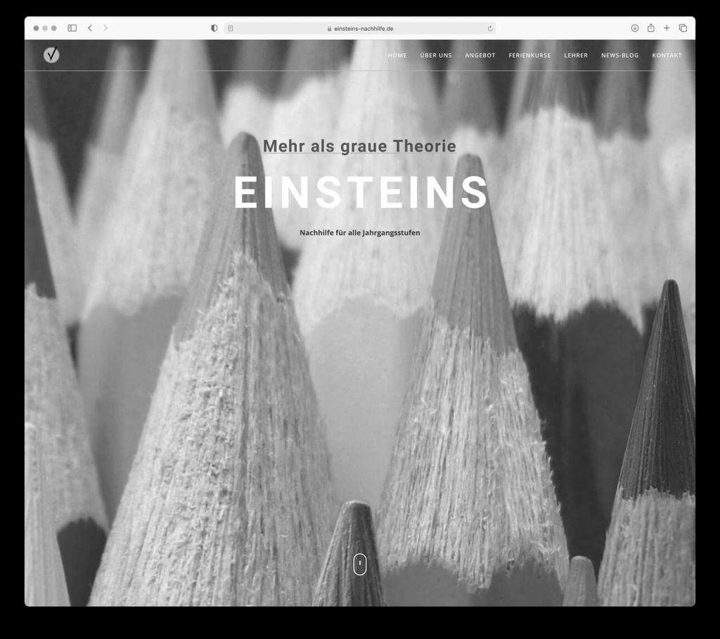 designbyschauer Website Einsteins
