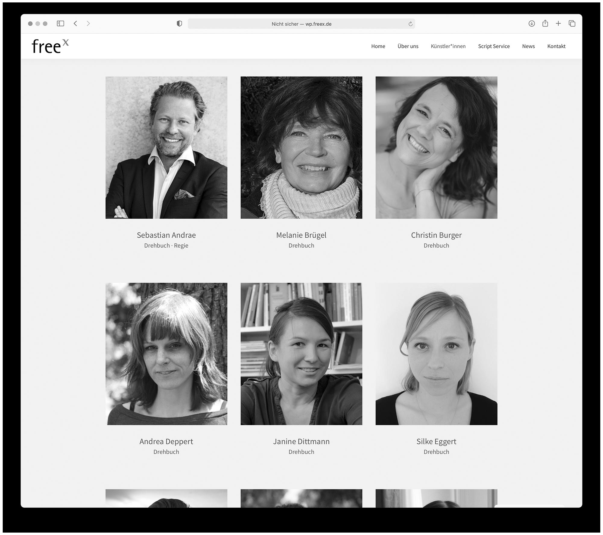 designbyschauer Website freex