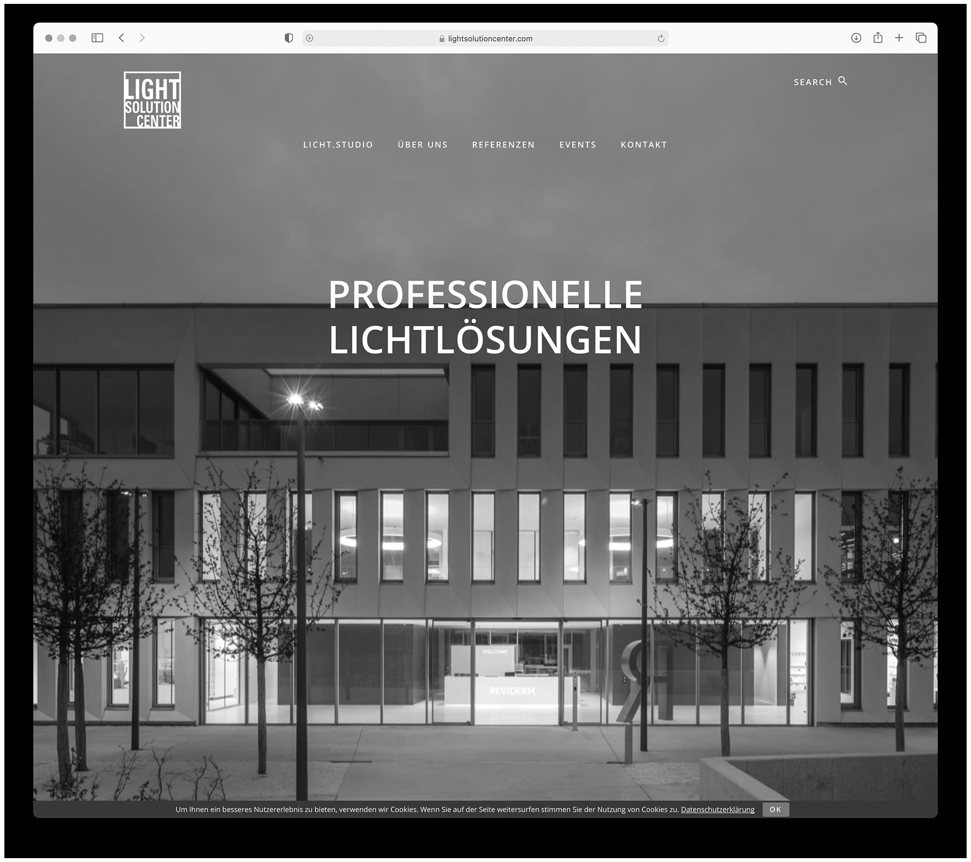 designbyschauer Website lightsolutioncenter