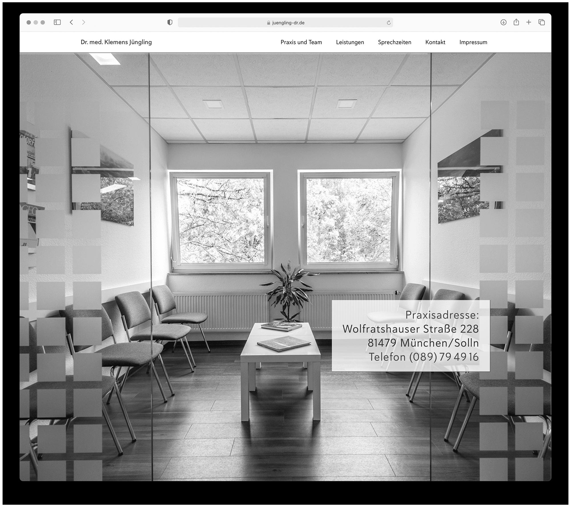 designbyschauer Website Praxis Jüngling