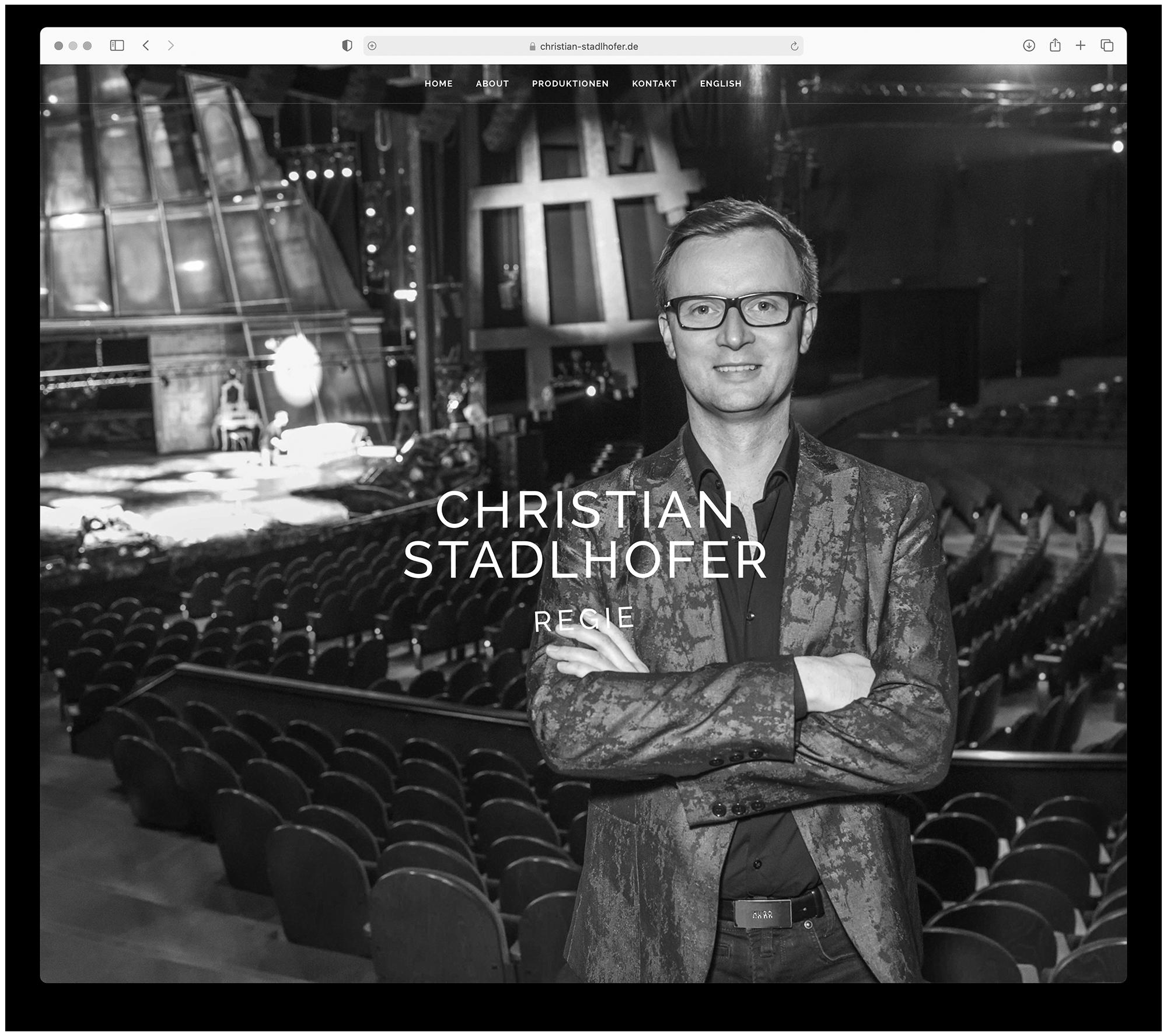 designbyschauer Website Christian Stadlhofer