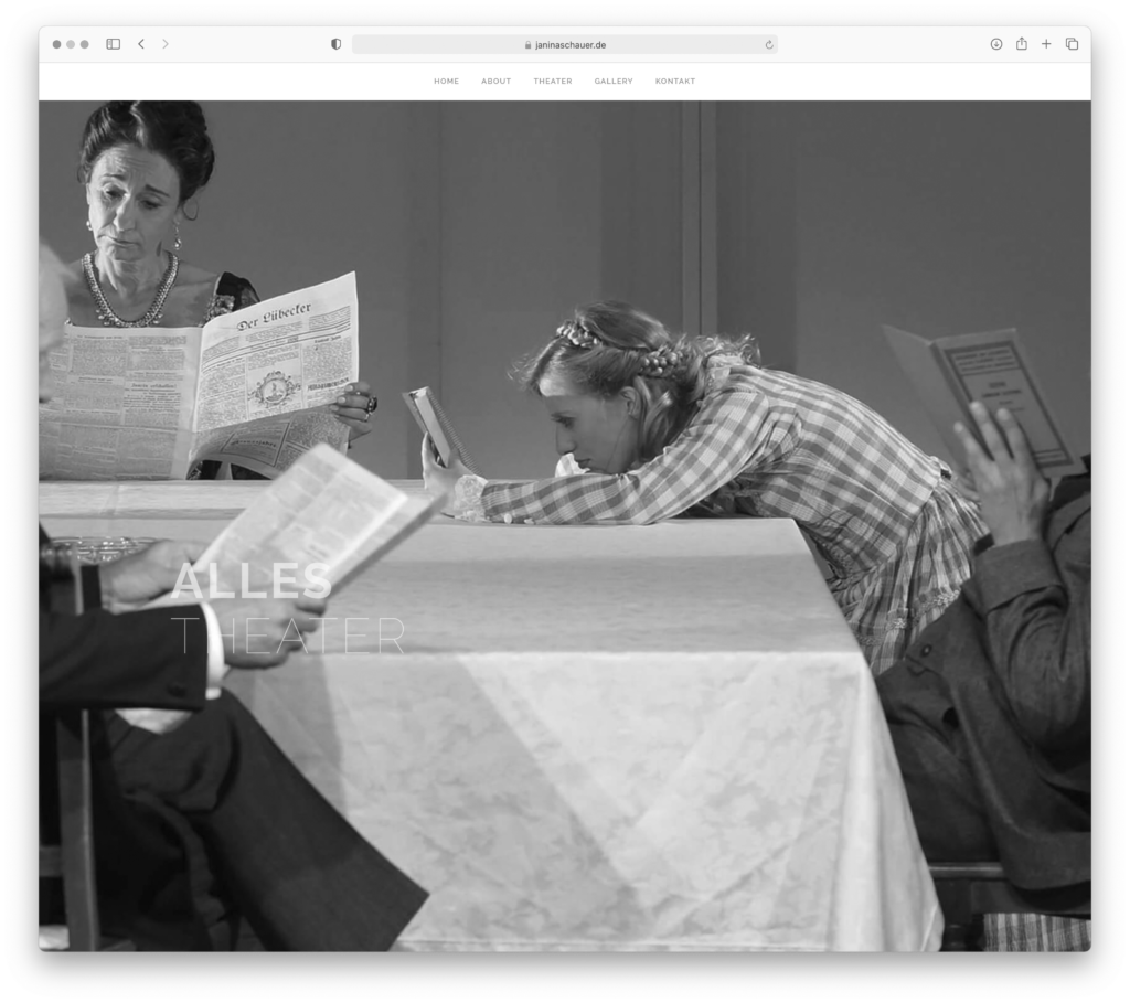 designbyschauer Website Janina Schauer